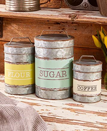 The Lakeside Collection Classic Country Canister Set