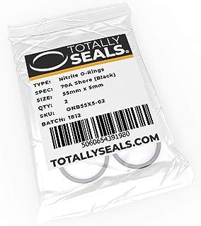 Nero 10 mm x 2,5 mm confezione a scelta diametro esterno 15 mm durezza 70A in gomma nitrilica 1