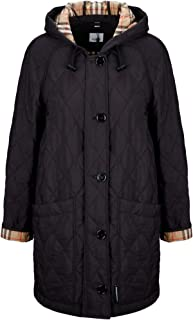 BURBERRY Luxury Fashion Womens 8021184 Black Coat | Fall Winter 19