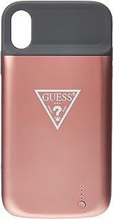 GUESS GUFCPCI61RO Full Cover Power Case 4000mAh for iPhone Xr - Rose Gold