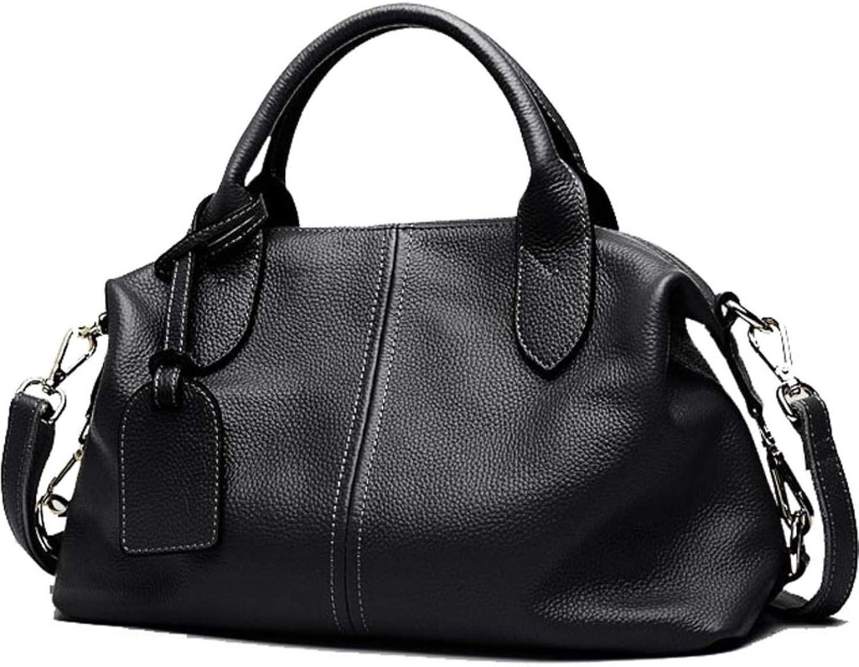 Hot New Women Genuine Leather Boston Europe Style handbags
