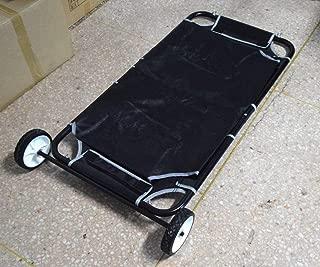 Pet Animal Transport Stretcher Dog Emergency Carry Stretcher for Large Dog In Black