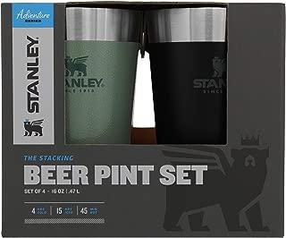 Stanley Adventure Stacking Beer Pint Set 16oz - 4 Pack
