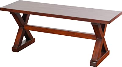 W48 x D14 x H18 Light Gray Liberty Furniture Industries 62-C9000B Lindsey Farm Backless Bench