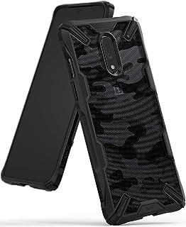 Ringke OnePlus 7 Fusion-X Design Ergonomic Transparent Shock Absorption TPU Bumper Case - Camo Black