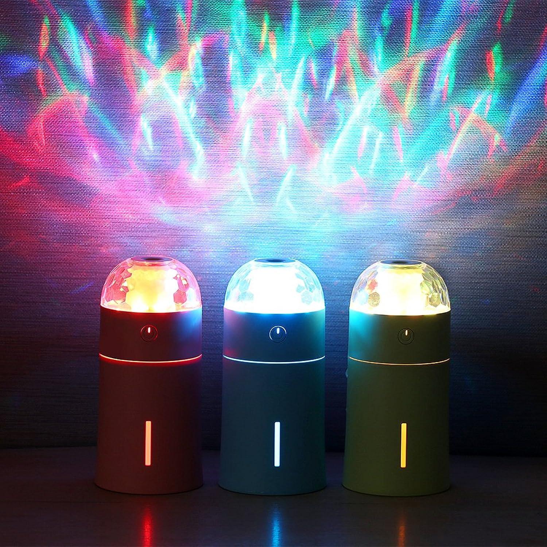 QIZIANG Der magische Schalen-Ultraschallluftbefeuchter mit bunter bunter bunter geführter Licht-Atmosphäre-Licht Hot (Farbe   Blau) B07LF861QC    Lebhaft  d0b1a1