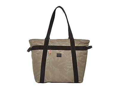 Herschel Supply Co. Alexander Zip (Dusty Olive/Tonal Camo) Tote Handbags
