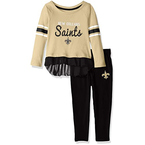 adb55a594 Outerstuff NFL Girls Mini Formation Long Sleeve Top   Legging Set