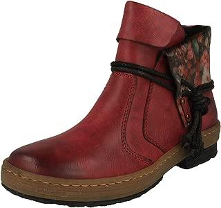 Rieker Femme Bottes, Boots Z4964, Dame Bottes d'hiver NtLPu