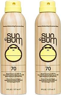 Sun Bum Sun Bum Original Spf 70 Sunscreen Spray Vegan and Reef Friendly (octinoxate & Oxybenzone Free) Broad Spectrum Mois...