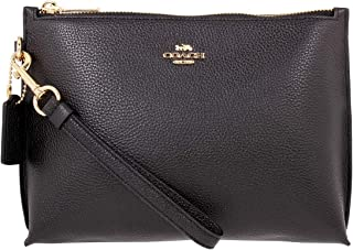 Coach Charlie Ladies Small Leather Pouch