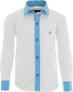 GILLSONZ GA22 vDa Childrens Party Casual Shirt Long Sleeved 100/% Cotton