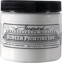 Jacquard Professional Screenprinting Ink - 119 Super Opaque White 16 fl oz