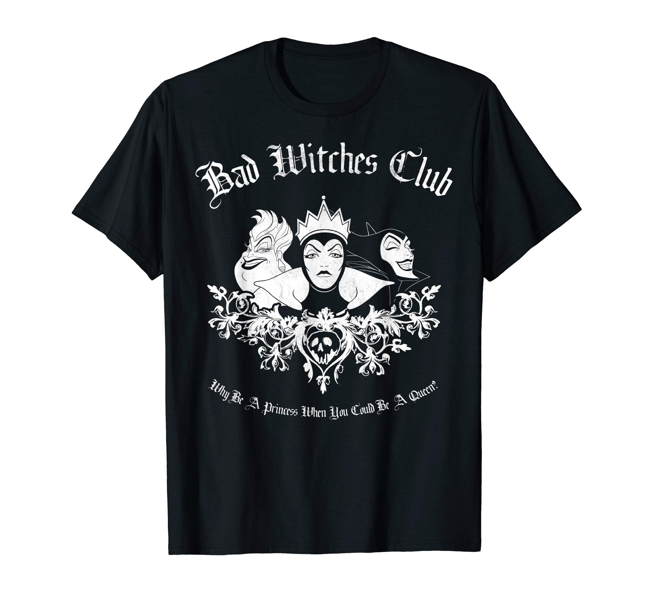 Villains Bad Witches Club Group Shot Graphic T-Shirt T-Shirt