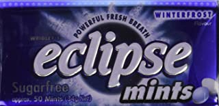Eclipse Sugarfree Mints 1.2 Ounce Tins (Pack of 8) (Winterfrost Mint)