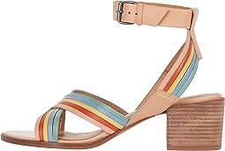 Olson Multi Strap Heeled Ankle Strap Sandal