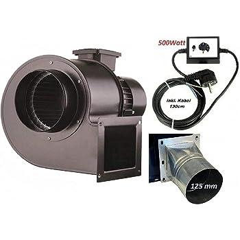 Ventilador OB200M con 500 W regulador de velocidad, Industrial ...
