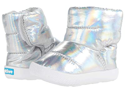 Native Kids Shoes Chamonix Hologram Boot (Infant/Toddler) (Hologram/Shell White) Kid