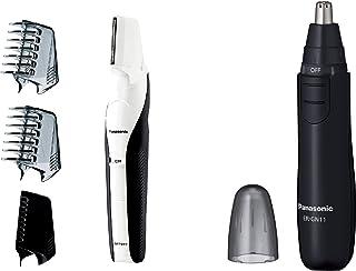 パナソニック ボディトリマー お風呂剃り可 男性用 白 ER-GK60-W + エチケットカッター セット