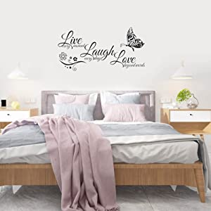 Large Butterfly Wall Decor Stickers for Home's Living Room / Bedroom / Kitchen Art Wall Stickers
