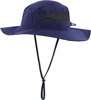 Men's Outdoor Mesh Boonie Sun Hat Wide Brim UV Protection Fishing Hat
