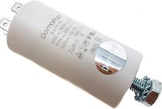 8 µF Universal DomoPart Kondensator 450 V, weiß