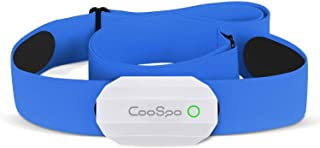 CooSpo Heart Rate Monitor Ant + Bluetooth 4.0 Impermeable Sensor with Chest Strap Works with Zwift Elite Training iCardio DDP Yoga Concept2 PM5 Vzfit