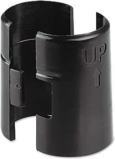 Alera (ALEAU) Alera ALE Wire Shelving Shelf Lock, Plastic, Black (Pack of 4 Clips)