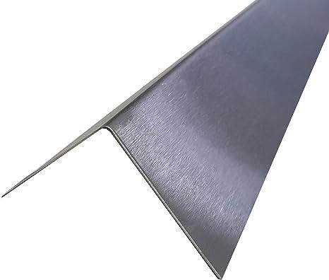 Winkelstahl Edelstahl V2A Winkeleisen Winkelprofil Länge 250mm 25cm
