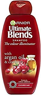 "Garnier:""Ultra Dolce"" (""Super Sweet"") Shampoo with Argan Oil and Cranberry 13.53 Fluid Ounce (400ml) [ Italian Import ]"