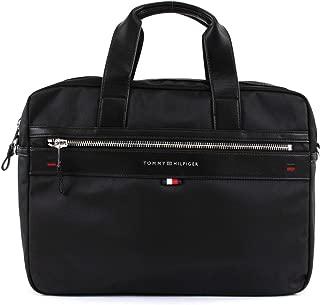Tommy Hilfiger Men's Elevated Computer Bag Elevated Computer Bag, Black, One Size