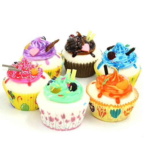 Nice Purchase 6Color Realistic Artificial Fake Cake Cupcake Model Home Staging Equipment Crafts Photography Props