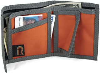 RFID California Bifold Nylon Wallet w/Inside Pocket. Hook & Loop Closures. USA
