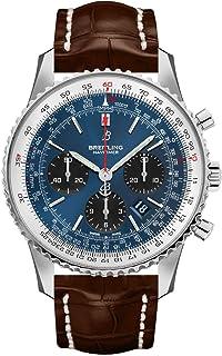 Breitling - Navitimer 1 B01 Reloj cronógrafo 43 esfera azul para hombre AB0121211C1P2