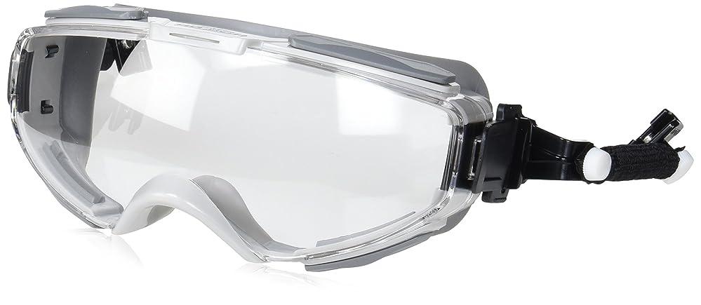 TOYO 開閉ベンチレーション付き 防じんメガネ ハイパーゴーグル スプリングバンドヘルメット取付式 NO.1391