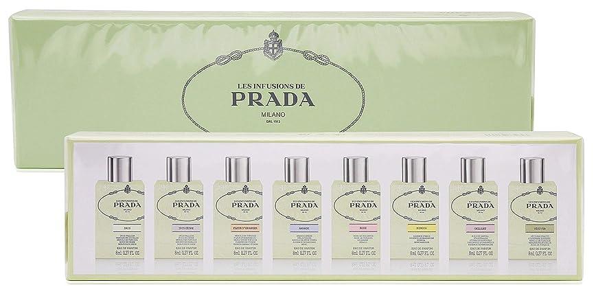 八百屋レーザ袋Prada Infusion D'iris by Prada Gift Set - Mini Gift Set of Eight .27 oz Travel Sprays Includes Iris, Iris Cedre, Fleur D'oranger, Amande, Rose, Mimosa, Oellet, Vetiver / - (Women)