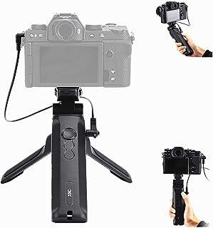 JJC RR-100 リモートレリーズ 自撮り棒 卓上三脚 VLOG三脚 Fujifilm Fuji X-E4 X-S10 XS10 X-T4 XT4 X100V X-T3 X-T2 X-T1 X-T30 X-T20 X-T10 X-PRO3 ...