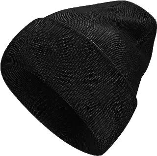 YOULEY Beanie for Women Winter Knit Hats Acrylic Soft Warm Cuffed Hat Girls Women Beanies