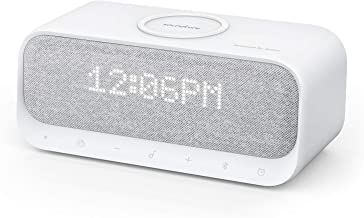 Bluetooth Speaker, Anker Soundcore Wakey Bluetooth Speaker Powered by Anker with Alarm Clock, Stereo Sound, FM Radio, Whit...