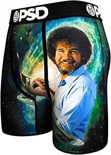 PSD Men's Bob's Galaxy - Bob Ross Boxer Brief Underwear