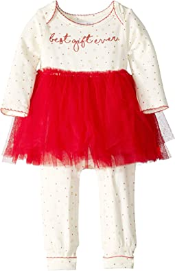 Best Gift Ever Tutu One-Piece Playwear (Infant)