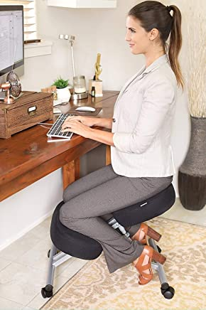 GreenSoul® Ergonomic Kneeling Chair, Adjustable Chair for Home and Office