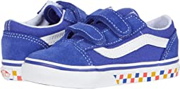(Tri Checkerboard) Royal Blue/True White