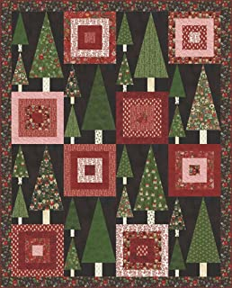 winter village quilt kit