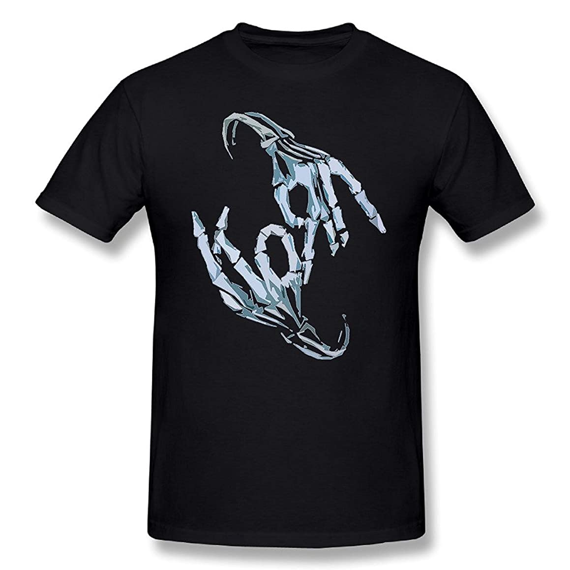 Sun-Tshirt Korn Band Skeleton Sign Bone Logo T-Shirt