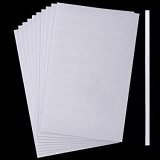 1000 Stücke Schaumstoff Klebestreifen Doppelseitige Zwei-Klebende 3D Schaumstoff Bänder Schaumstoff Popstreifen Klebebefestigung für Karten Büro Sammelalbum, 20 Blätter 3,9 Zoll