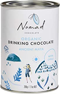 Nomad Chocolate - Organic Hot Chocolate Ancient Maya with Chilli and Spices, 7.05oz
