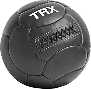 TRX Training Medicine Ball, Handcrafted with Reinforced Seams, 12lbs