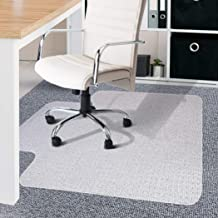 Chair Mat Carpet Floor Office Home Computer Work Vinyl PVC Plastic 1350x1140mm