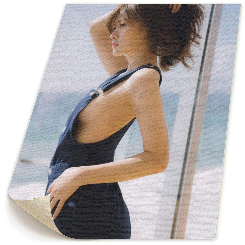 と組む成人期ミトン白石麻衣 ポスター フレームなし キャンバスファブリック布印刷 インテリア 現代壁の装飾 リビングルーム お店 模様替え